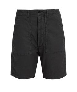 THE GREAT | The Army Low-Slung Woven Shorts