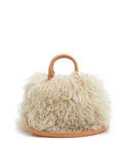BROTHER VELLIES | Mini Island Shearling Shoulder Bag