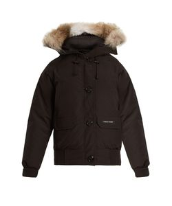 Canada Goose | Chilliwack Fur-Trimmed Down Bomber Jacket