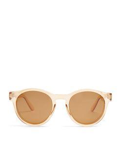 Le Specs   Hey Macarena Round-Frame Sunglasses