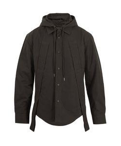 CRAIG GREEN | Hooded Cotton-Blend Shirt