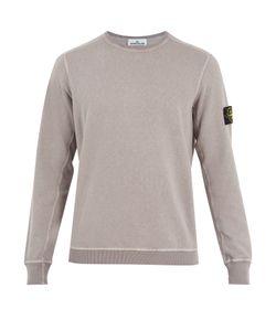Stone Island | Crew-Neck Washed Cotton Sweatshirt