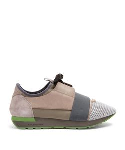 Balenciaga | Race Runner Panelled Low-Top Trainers