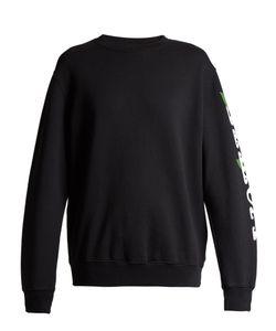 OFF-WHITE   Othelo Print Cotton Sweatshirt