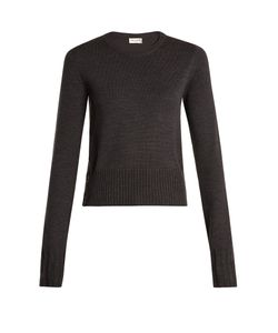 Saint Laurent | Button-Detail Wool Sweater