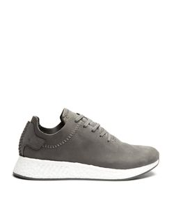 ADIDAS BY WINGS & HORNS | Nmd R2 Mid-Top Leather Trainers