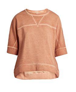 THE UPSIDE   Charlot Wide-Sleeved Cotton Sweatshirt