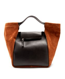 Givenchy | Real Trapeze Leather And Suede Tote