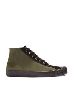 Comme Des Garcons   X Spalwart Special Mid-Top Suede Trainers