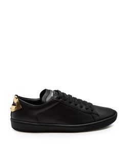 Saint Laurent | Court Classic Low-Top Lips-Panel Trainers