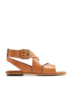 Tod'S | Crossover-Strap Leather Sandals