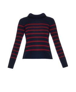Alexander McQueen | Breton-Stripe Fine Wool Sweater