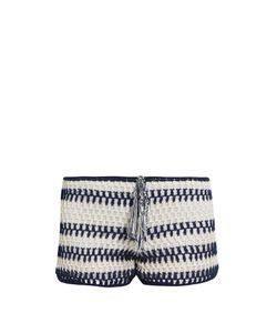ANNA KOSTUROVA | Baja Crochet Shorts