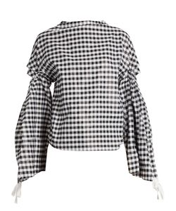 Toga | Open-Back Cotton-Blend Top