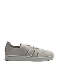 ADIDAS BY WINGS & HORNS | Campus Low-Top Leather Trainers