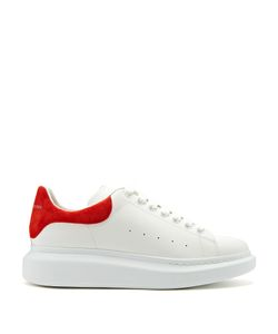 Alexander McQueen | Raised-Sole Low-Top Leather Trainers