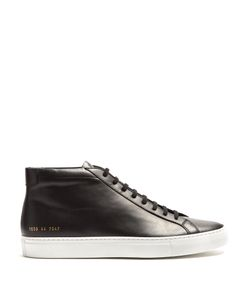 Common Projects | Original Achilles Mid-Top Leather Trainers