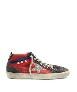Golden Goose | Mid Star High-Top Canvas Trainers