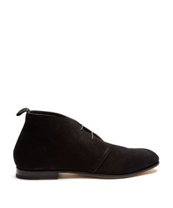 HELBERS | Lace-Up Suede Chukka Boots