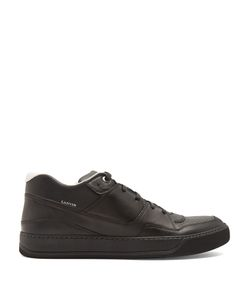 Lanvin | Leather Mid-Top Trainers