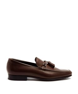 Tod'S | Leather Tassel Loafers