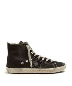 Golden Goose | Francy High-Top Canvas Trainers