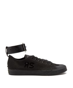ADIDAS BY RAF SIMONS | Spirit Buckle Low-Top Canvas Trainers