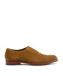 Grenson | Luther Suede Oxford Shoes