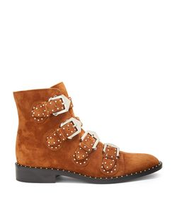 Givenchy | Elegant Studded Suede Ankle Boots