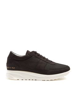 Common Projects | Track Low-Top Nubuck And Mesh Trainers