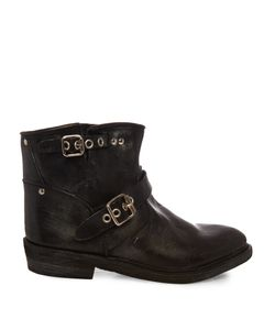 Golden Goose | Biker Leather Ankle Boots