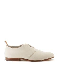 HELBERS | Suede Derby Shoes