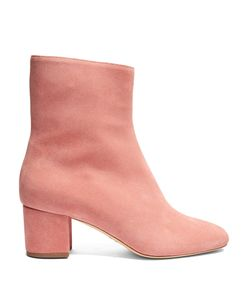 BROTHER VELLIES | Kaya Block-Heel Suede Ankle Boots
