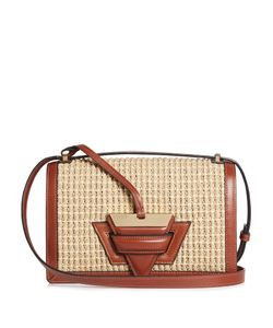 Loewe | Barcelona Raffia And Leather Bag