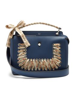 Fendi | Dotcom Ribbon-Whipstitch Leather Bag