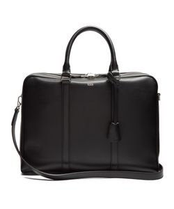 Tod'S | Logo-Print Leather Briefcase