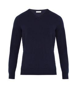 Boglioli | V-Neck Fine-Knit Wool Sweater