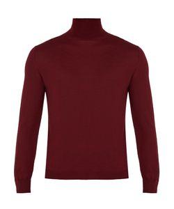 Boglioli | Roll-Neck Fine-Knit Wool Sweater