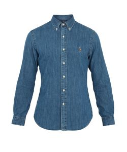 Polo Ralph Lauren | Slim-Fit Cotton-Chambray Shirt