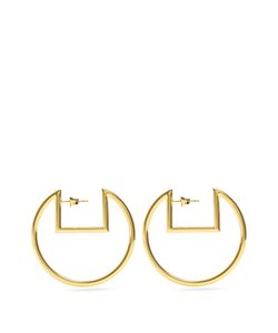 Isabel Marant | Squared-Top Hoop Earrings