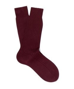 BERLUTI | Ribbed Cotton Socks