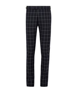Thom Browne | Slim-Fit Windowpane-Checked Wool Trousers