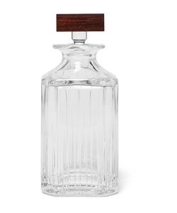 Linley | Trafalgar Crystal And Rosewood Whisky Decanter