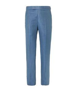 RICHARD JAMES | Slim-Fit Super 130s Silk And Wool-Blend Jacquard