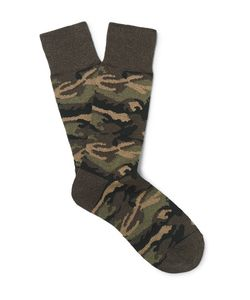Beams Plus | Camouflage Knitted Socks