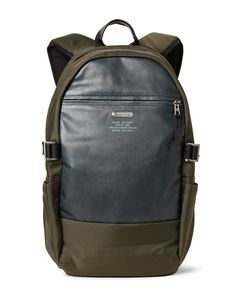 Master-Piece | Spec Leather-Panelled Ballistic Cordurareg Backpack