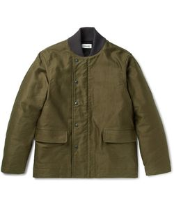 CHIMALA | Codelane Brushed Cotton-Twill Deck Jacket