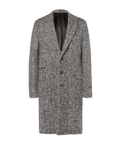 Michael Bastian | Herringbone Brushed Virgin Wool Coat
