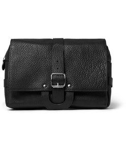 D R Harris | Full-Grain Leather Hanging Wash Bag