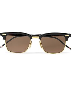 Thom Browne | D-Frame Acetate And Gold-Tone Sunglasses